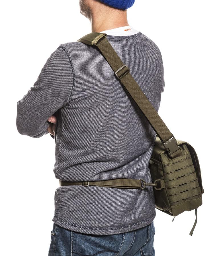 Helikon Messenger Bag Small Olkalaukku Vihreä 4