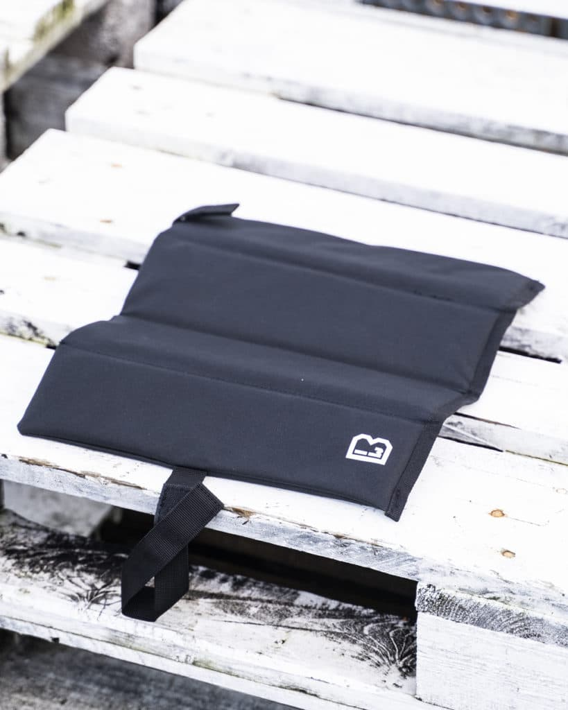 Pack-a-Seat Istuinalusta Musta