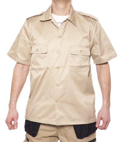 Tactical Kauluspaita SS Khaki