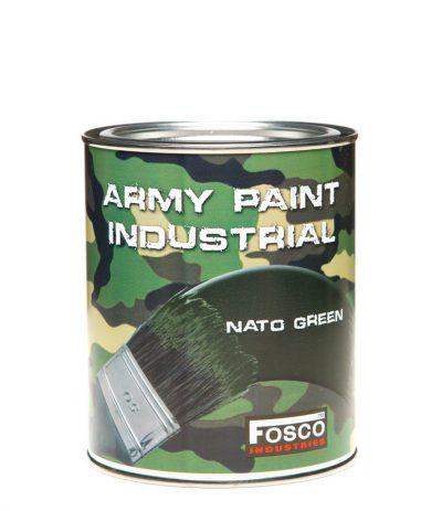 Armeijamaali Litran Purkki NATO Green