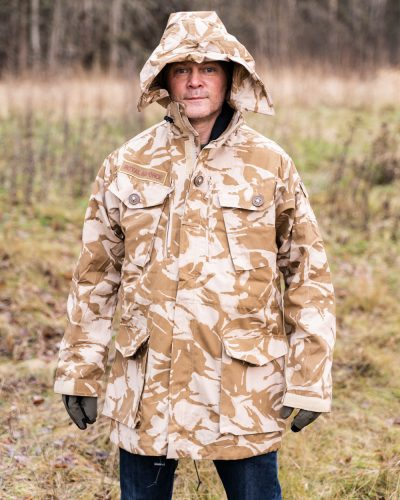 Britti Ylijäämä Combat Smock Desert DPM Camo