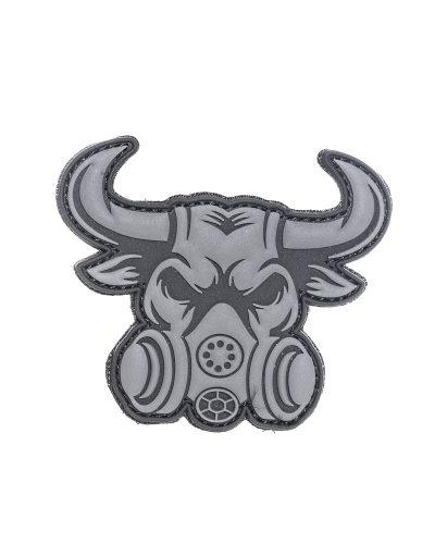 Grey Bull Velcro PVC Merkki