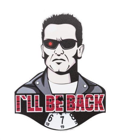 Arnold I'll Be Back Parkkikiekko