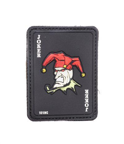 Jokeri Velcro Tarranauhamerkki Musta