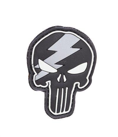Punisher Bolt Salamakallo Velcro PVC Merkki