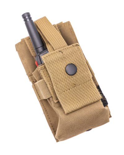 Molle PMR Pouch Radiopuhelintasku Coyote