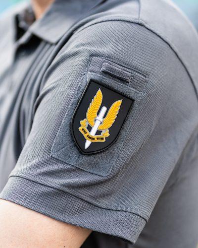 SAS Who Dares Wins PVC Velcromerkki