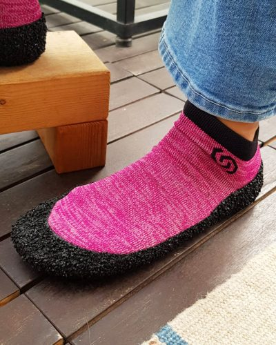 Lasten Skinners Barefoot Sukkajalkineet Pinkki