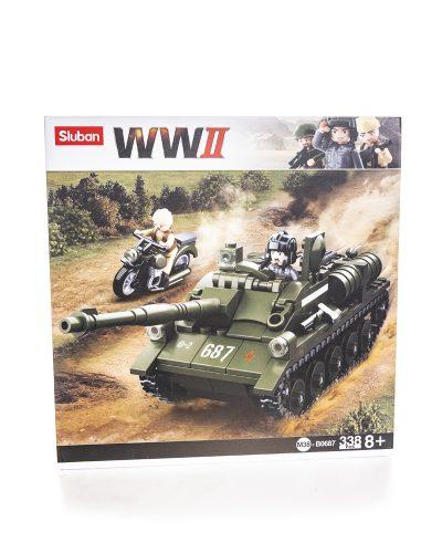 Sluban WW2 Tank Destroyer Tankintuhoaja