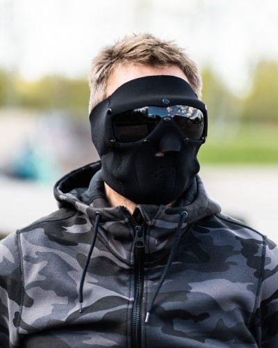 SwissEye SWAT Basic Suojamaski Musta