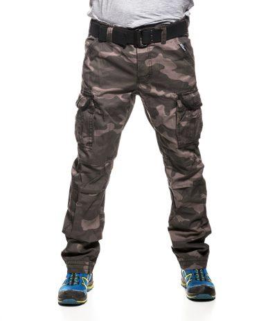 Premium Regular Fit Reisitaskuhousut Blackcamo